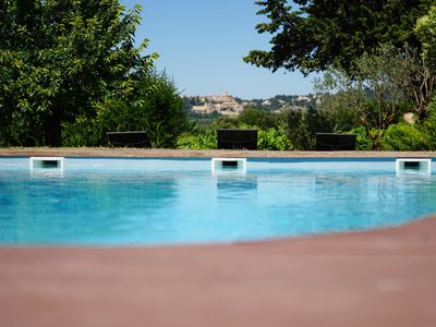 Photo for Large Provençal Mas renovated for 10 people and 2 bb with swimming pool at the foot of Ventoux