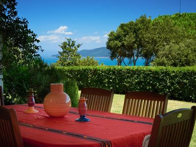 Photo for CHARMING VILLA with stunning sea views, oasis of privacy and relaxation