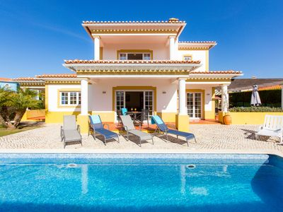 Photo for Villa Two Hoots, 3 bedrooms, private pool, free WiFi, Praia d'el rey resort