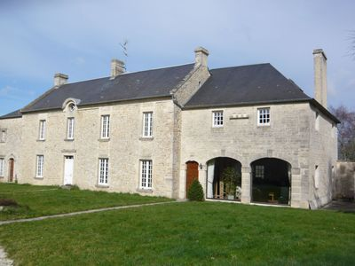 Photo for Spacious house near the historic town of Bayeux and only 9km from the sea.