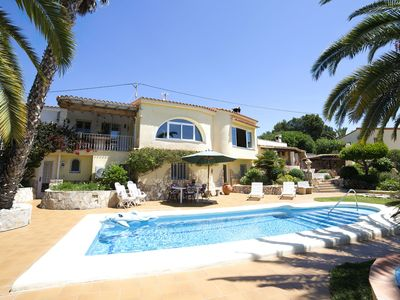 Photo for This 3-bedroom villa for up to 8 guests is located in Benissa and has a private swimming pool, air-c
