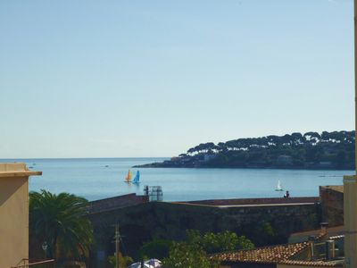 View of the 'Ramparts' and Cap d'Antibes