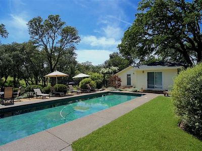 Photo for Wine Country Home on Chalk Hill - main house + pool house (up to 12 guests)