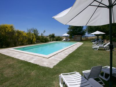 Photo for Fancy Farmhouse in Tuscany with Swimming Pool