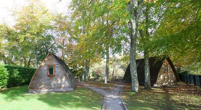 Photo for Braidhaugh Wigwams (standard) Sleep up to 4 persons, 2 adults are included.