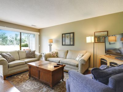 Photo for Two Free Bikes with Spring Rentals!  Sunny villa offering tranquil views of the George Fazio Golf Co
