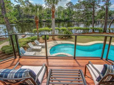 Photo for 21 Starboard Tack - Amazing! 5 Bedroom plus den home.  Just minutes to beach.