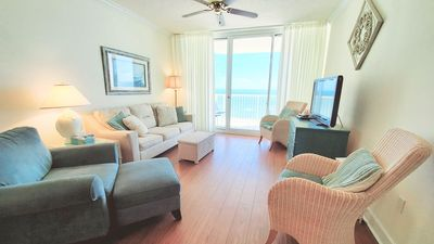 Photo for Avalon 1505 Direct Gulf View, Grill, Wifi, King/2 Sets of Bunks/Sofa Sleeper