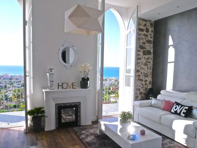 Photo for Luxury studio in exceptional property with magical sea view