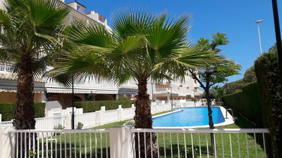 Photo for Javea Playa el Arenal Beach Townhouse WIFI