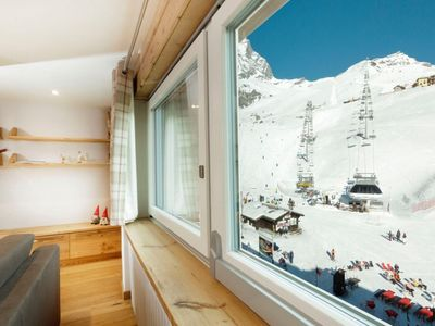 Photo for Maison Reve Blanc with direct access to the ski slopes of Cervinia and to the town center.