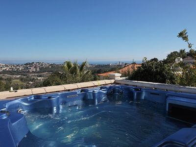 Photo for Immaculate 3 bedroom Townhouse overlooking Calpe