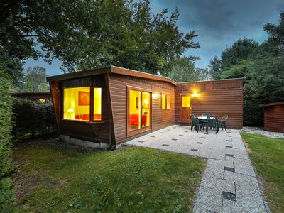 Photo for Cosy, detached wooden chalet.