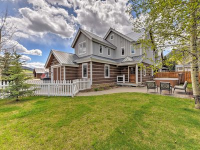 Photo for Crested Butte Townhome w/ Hot Tub & Mtn Views!