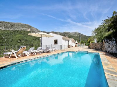 Photo for Little house with great pool and views. Very calm location, south facing