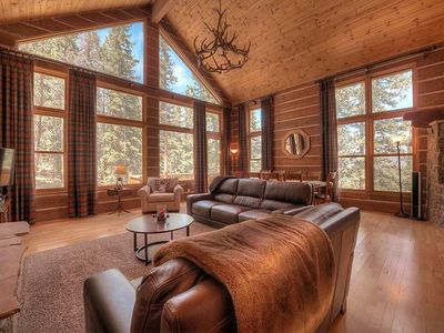 Photo for Spruce Hill Lodge-South of Breckenridge, Mountain Views-Hot Tub