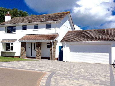 Photo for Modern holiday home just outside Brixham, near golf course and sea