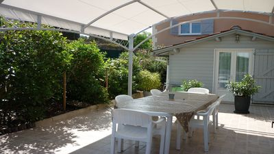 Photo for villa comfort new 7 pers, 5mn of the center and beaches, garden, terraces, WIFI