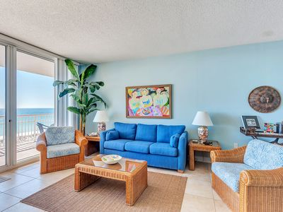 Photo for SANTA ROSA TOWERS 803 - 3 BR/2 BATH 8TH FL CONDO; SLEEPS 8. Free WiFi. Pool