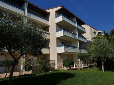 Photo for Canet T2 of 41 m2, 2 parkings, one beside the sea, Wifi, air-conditioned room