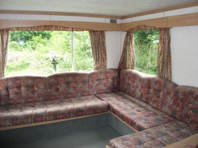 Photo for COSY CARAVAN FOR RENT on non working farm near  BALA , NORTH WALES