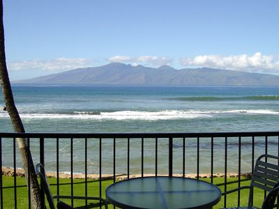 Photo for Direct Oceanfront 1BR/1BA Condo at Papakea Resort