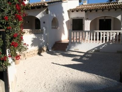Photo for Delightful pueblo villa, pool, private patio, near shops & sea