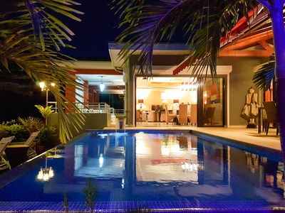 Penthouse Jambolana, lagoon view, private pool