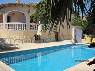 Photo for Convenient vacation home with pool and ocean view
