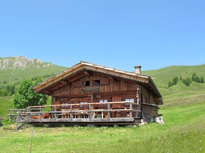 Photo for Vacation home Chalet Baita Medil  in Alpe Lusia - Bellamonte, Dolomites - 6 persons, 3 bedrooms