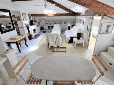 Photo for Charming & Atypical apartment under roofs / 3 bedrooms - 100 m2