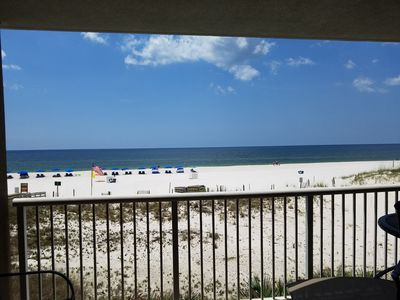 Photo for #206 - Beautiful Gulf Front 2nd floor condo - 1BD/2BA w/Bunks/ Gorgeous Views!!!