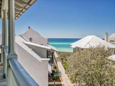 Photo for OCEAN VIEWS, July 14 - July 20 PROMO! South Side 30A in Rosemary w/Pool