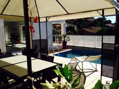 Photo for Rental villa with pool seaside