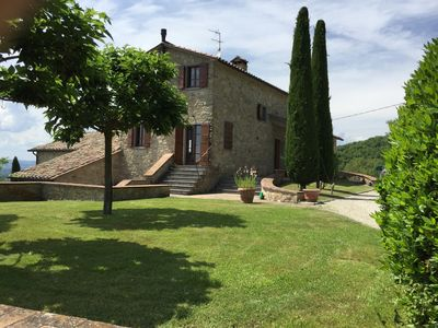 Photo for Tuscany/Umbria Border,Country House/Pool