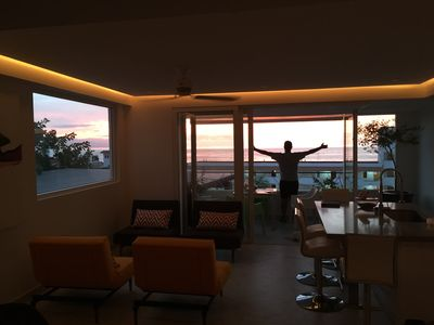 Photo for Perfect! D'Terrace! Beach close! One Bdr TWO bath sleeps 4! Amazing Rooftop! GYM