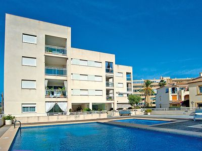 Photo for 3 bedroom Apartment, sleeps 6 in Javea with Pool, Air Con and WiFi
