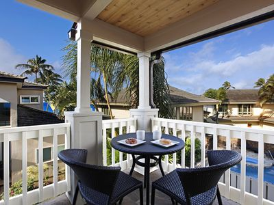 Photo for Villa Kailani Townhome A: Central AC steps from Poipu Beach