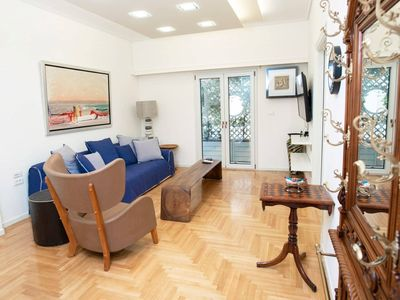 Photo for 1BR Apartment Vacation Rental in Athens, Attiki