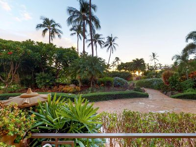 Photo for Waterfront condo with everything - resort pool & hot tub, ocean views, & lanai!