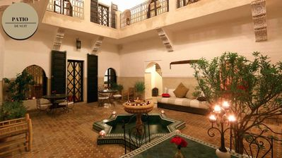 Photo for Tadelakt Suite in charming Riad in the heart of the Medina