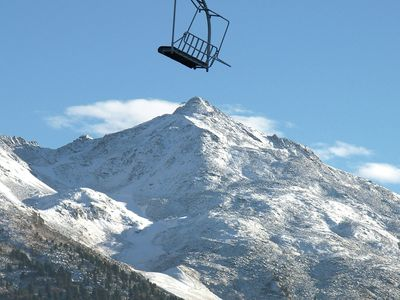 Photo for Two bedroom apartment situated on the slopes and close to shops in Meribel-Mottaret