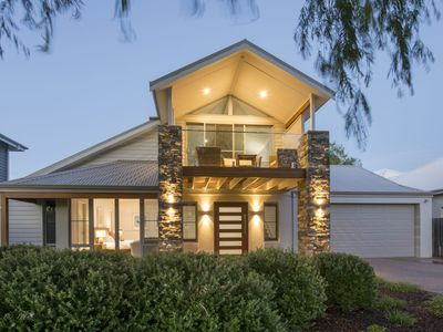 Photo for Beachstone - Stylish Spacious Home Opposite Beach and Close to Town
