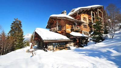 Photo for Exceptional chalet with swimming pool, jacuzzi, climbing wall, fitness room ....