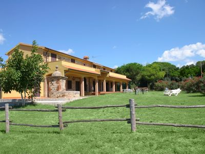 Photo for Riparbella Podere Cerro Grosso 2 vani vista mare - Apartment for 4 people in Riparbella