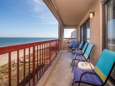 Photo for Stay Oceanfront in North OC! Outdoor Pool & Gorgeous Sunrise Views!