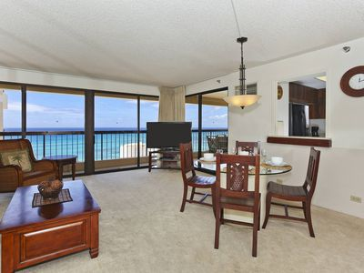 Photo for INCREDIBLE OCEAN VIEW!  A/C, WiFi, Pool, one Parking, Sleeps 6!