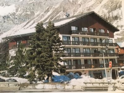 Photo for Luxurious duplex, sunny, view of the mountains, 3 room cabin .70m2