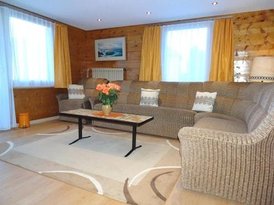 Photo for Grächen CH: 5-room apartment with mountain view 4 - 9 persons (incl. Parking spot)