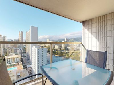 Photo for Beautiful condo w/shared pool, hot tub - private lanai & water view